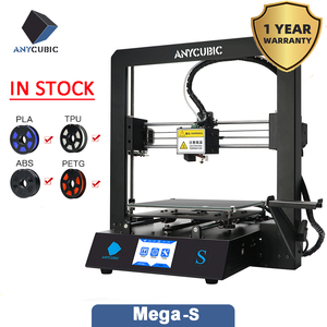 Image 2 - ANYCUBIC Mega S 3d Printer i3 Mega Upgraded Plus Size TFT Touch Screen Desktop FDM 3d Printer Kit impresora 3d stampante 3d