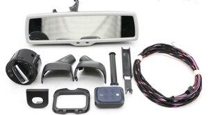 Image 3 - רכב מראה אחורית אוטומטי פנס מתג + גשם אור מגב חיישן + נגד בוהק מראה אחורית פולקסווגן גולף MK6 Tiguan Jetta 5