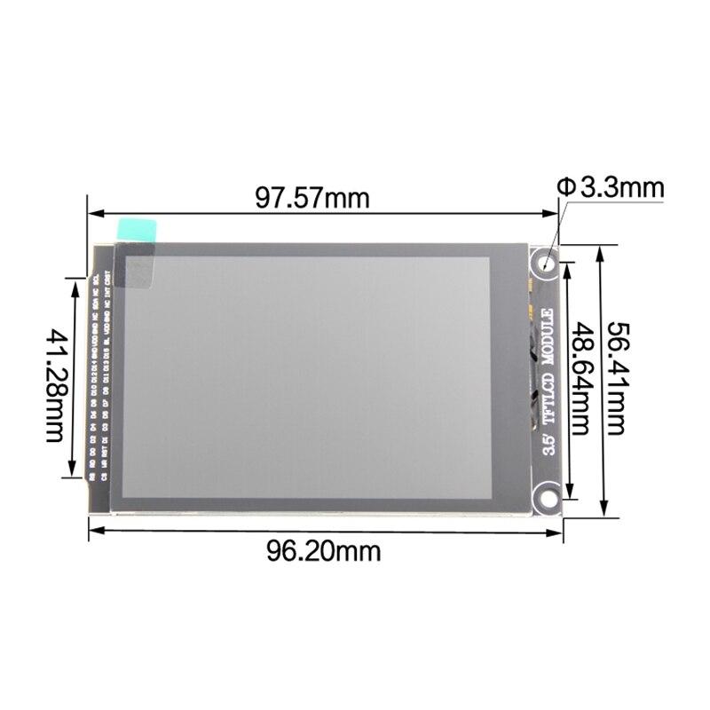 IG 3.5 дюймовый TFT ЖК экран дисплей модуль с ЖК экраном контактная панель 320X480 Драйвер IC ILI9488 для Arduino - 2