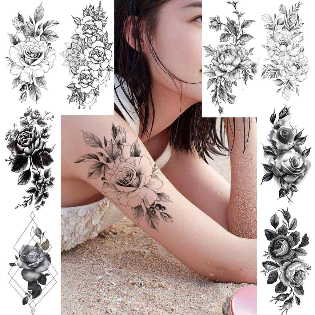 Frauen rosen tattoos arm Ideen Tattoos