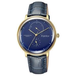 Image 2 - Men Watch Fantor Luxury Casual Leather 2019 Chronograph Quartz Waterproof Mens Wristwatch Top Brand Man Clock Watches for Men