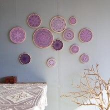 «Сделай сам» зеленый фиолетовый розовый гобелен настенный декор