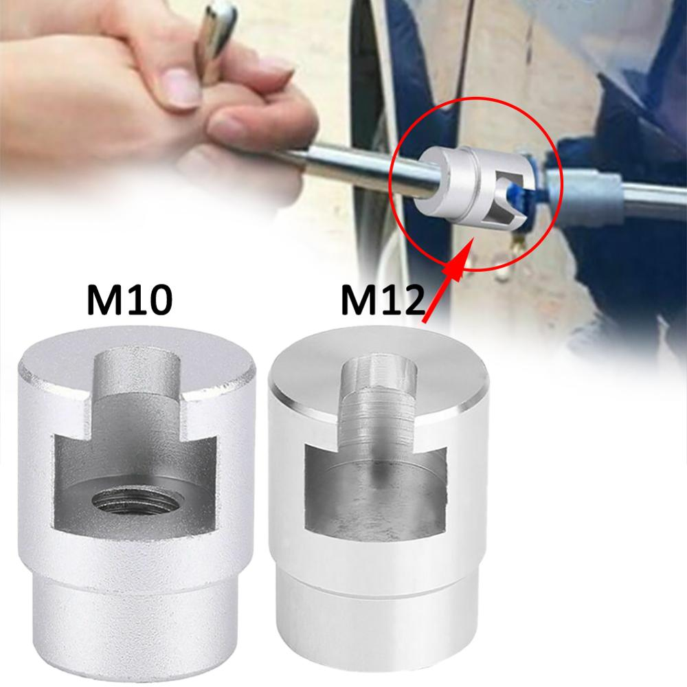 High Recommend M10 M12 Car Dent Repair Puller Head Paintless Removal Adapter Screw Hammer Pulling Tabs Wholesale Quick Delivery