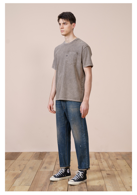 Vintage Cargo Style T-shirt for summer