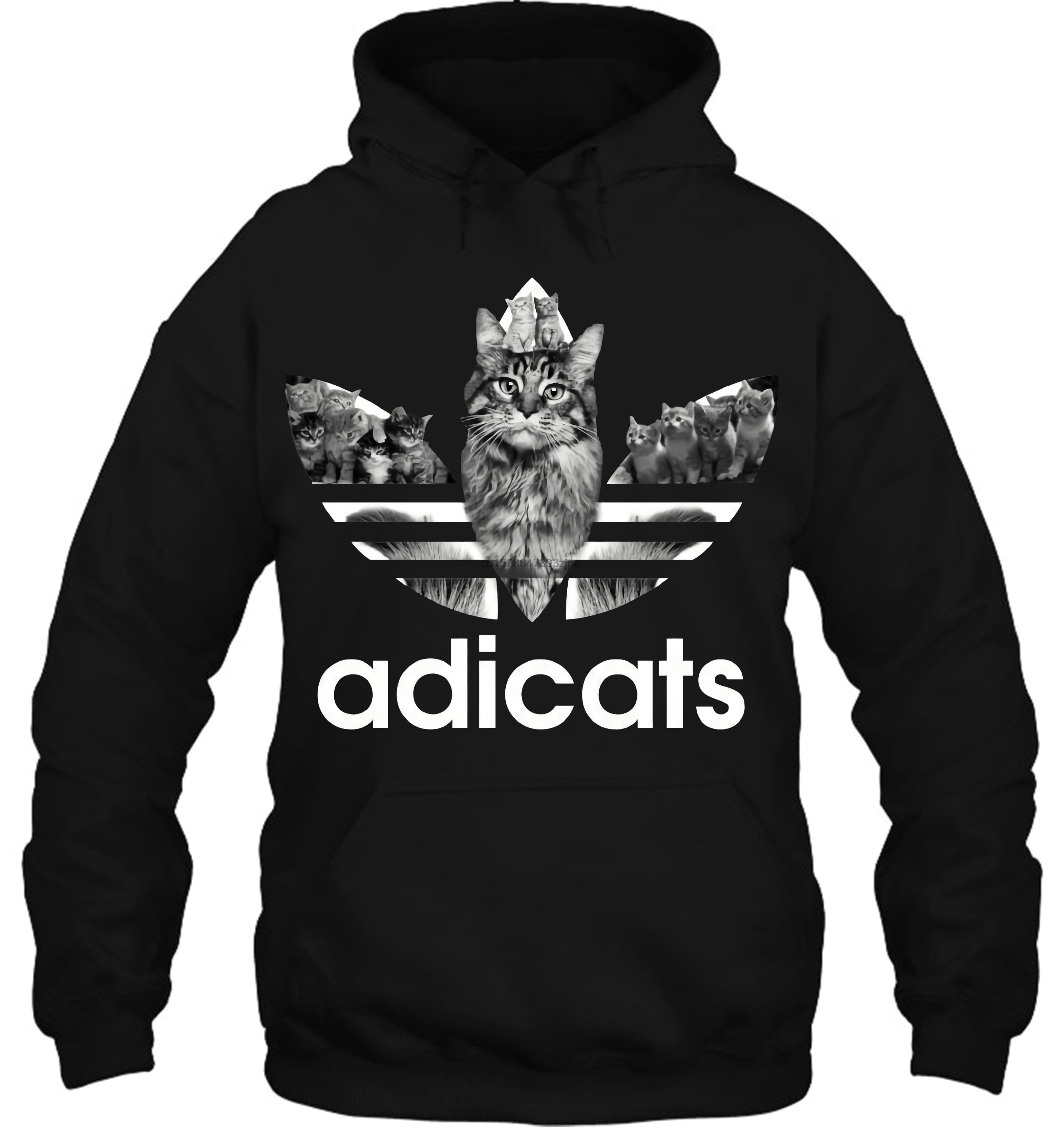 Adicats Streetwear Men Women Hoodies Sweatshirts