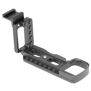 Image 5 - CNC アルミ垂直シュート QR L プレートブラケットソニー A6400 デジタル一眼レフカメラサポートコールド靴アクセサリー