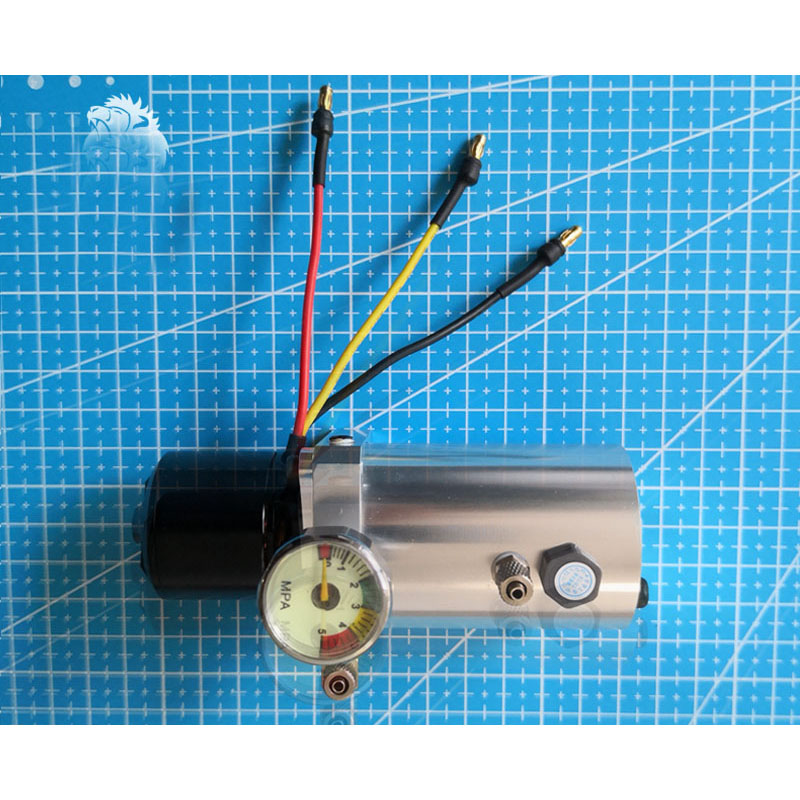 JQ New Full CNC Mini Micro High-pressure Oil Pump Integrated Pump Station Model Large Aircraft Landing Gear Shovel