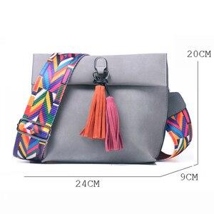 Image 5 - PU Leather Womens Shoulder Bag Luxury Handbags Women Bags Designer bolso mujer sac a main femme torebki damskie dames tassen