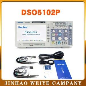 Hantek Scope Digits 40-K-Oscilloscopes Handheld 100-Mhz Portable 2-Channels for Log-Length