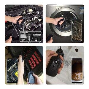 Image 5 - Caméra dinspection dendoscope de WiFi 5.5mm 1080P HD pour liphone Android 2MP caméra Semi rigide de serpent pour inspecter légout de moteur