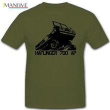 2019 Hot Sale 100% cotton Haflinger 700 AP Steyr Puch Bundesheer Osterreich Armee Fahrzeug T Shirt Tee shirt