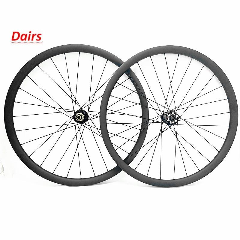 29er vtt disque 30x28mm tubeless vélo disque vtt roues pilier 1423 spoke1580g carbone roues vtt D791SB D792SB 100x15 142x12mm
