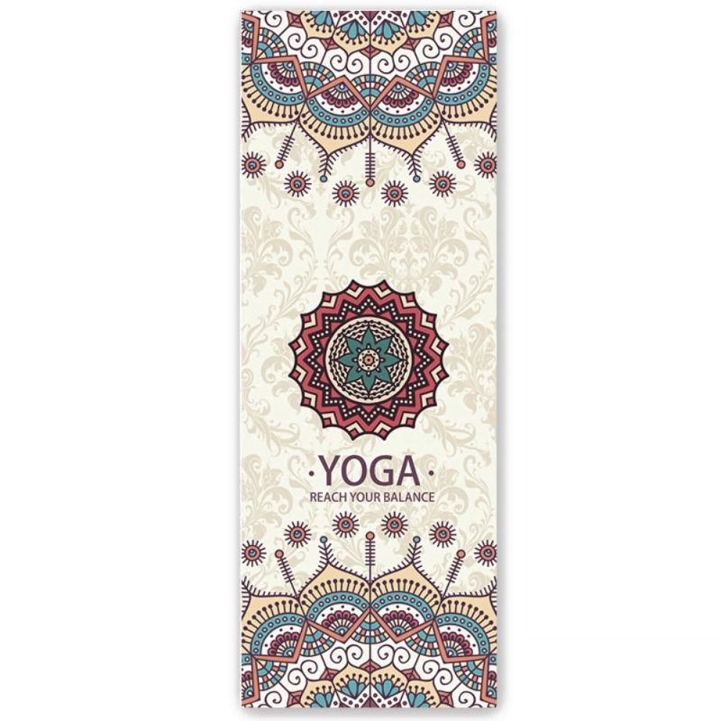 Yoga Mat Non-slip Female Sweat Absorption Beginner Folding Portable Yoga Blanket