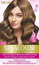 NEVACOLOR Премиум краска для волос 8 светильник Рыжий