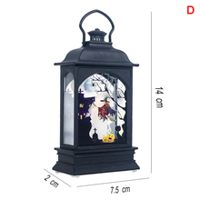 Vintage Lantern LED Light Lamp Portable Decoration for Halloween Party Hanging  _WK