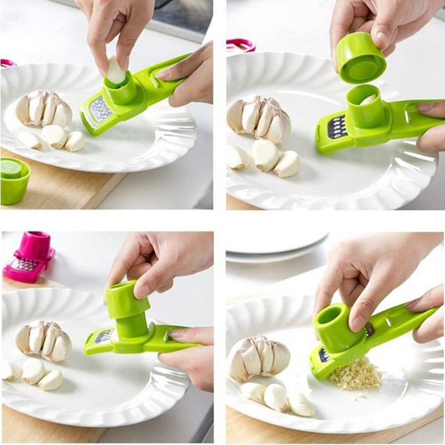 Press Ginger Garlic crusher Garlic Cutter Grinder Garlic Chopper Kitchen Accessories  2