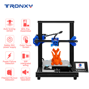 Image 5 - TRONXY 3D Printer XY 2 PRO 3D Printer Large Size I3 255*255 Hotbed V slot Resume Power Failure Printing FDM printing 3D Drucker