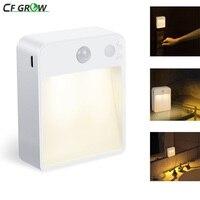 Lámpara LED de pared con Sensor de luz por movimiento PIR nocturna, luz de inducción Dual con puerto USB para interiores, hogar, niños, sala de estar, dormitorio y cabecera