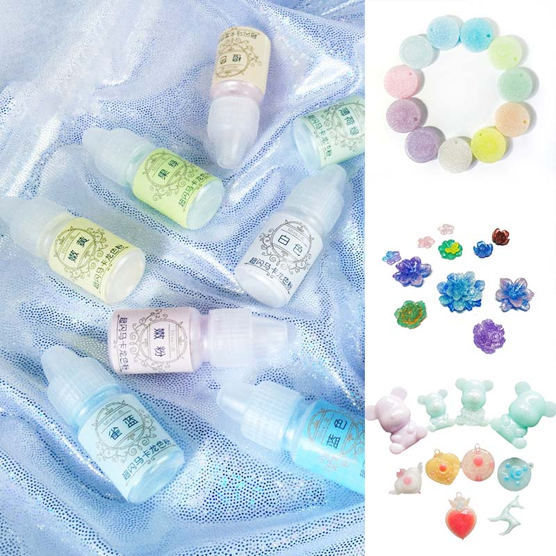 1 Pcs UV Resin Glue Pigment Color Powder Decoration Durable DIY Making Crafts FS99