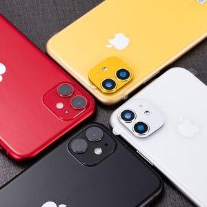 Image 4 - Cho Iphone XR Giây Thay Đổi Cho Iphone 11 Ống Kính Dán IPhone11 Kim Loại Sang Trọng Alumium Nắp Bảo Vệ Camera Vỏ Bảo Vệ