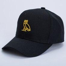 Helisopus New Baseball Cap for Men Women Cartoon Owl Pattern
