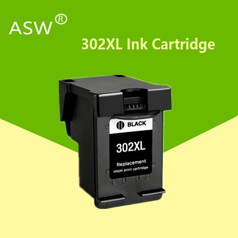 ASW 302XL remanufactured Cartridge Replacement for <font><b>HP</b></font> 302 HP302 XL <font><b>Ink</b></font> Cartridge for <font><b>Deskjet</b></font> 1110 1111 1112 <font><b>2130</b></font> 2131 <font><b>printer</b></font> image