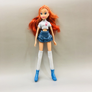 Original Winx Princess Doll fairy pixie Bloom dolls Long legged girl For doll toy(China)