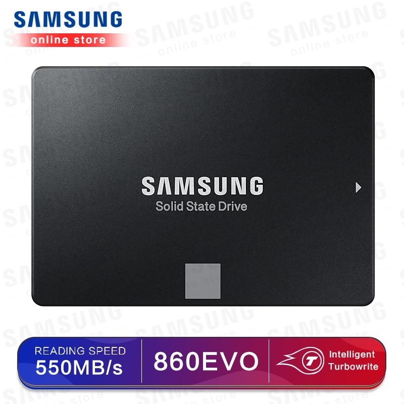 SAMSUNG SSD 860 EVO 250GB 500GB Internal Solid State Disk HDD Hard Drive SATA3 2.5 Inch Laptop Desktop PC TLC Disco Duro 250 GB