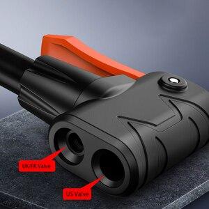 Image 2 - Pédale haute pression, pompe à Air pour vtt, vélo de route, voiture, gonfleur simple Double cylindre, pour Scooter Xiaomi M365