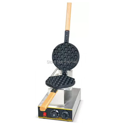 Elektryczne jajko gofrownica handlowa powłoka teflonowa wąż sklep jajko piekarz piekarnik toster maszyna