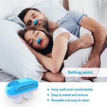Snore Circle Anti Schnarchen Nase Clip Silicone Magnetic Anti Snoring Breathing Stop Snore Apnea Antisnoring Clip Device