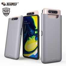 TOIKO X משמר 2 ב 1 עמיד הלם מוקשח שריון מקרי Samsung Galaxy A80 חזרה טלפון כיסוי היברידי מחשב TPU פגוש מגן פגז