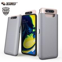 TOIKO X Guard 2 en 1 antichoc robuste armure étuis pour Samsung Galaxy A80 couverture de téléphone arrière hybride PC TPU pare chocs coque de protection