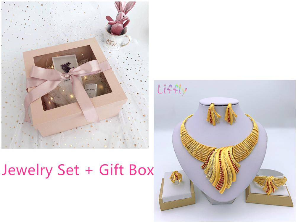 Red set and box