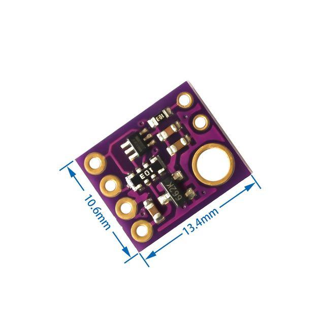SI1145 UV IR Sensor Visible I2C GY1145 Módulo de placa de luz 2