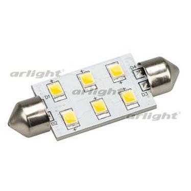 019422 Auto Lamp ARL-F42-6E Warm White (10-30V 6 LED 2835 ARLIGHT 1-pc