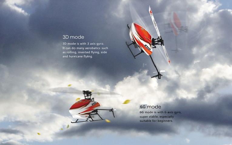 Kuulee XK K110 бесколлекторный р/у вертолет RTF/BNF для детей Веселые детские игрушки подарок RC дроны на открытом воздухе - 3