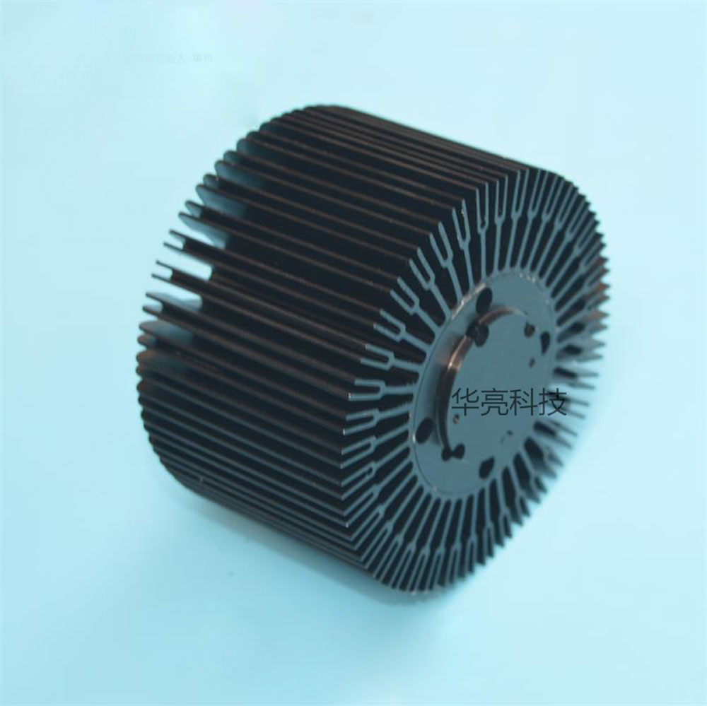 Diameter 95mm height 60mm LED light radiator aperture 34mm for CREE CXB 3590 chip heat dissipation 10-100W led grow COB chip