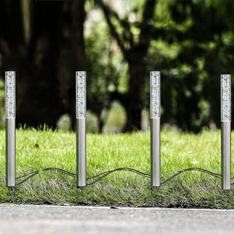 Led luzes do tubo de energia solar