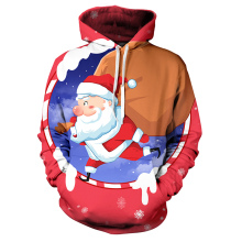 Толстовки с принтом Санта Клауса, мужские 3D толстовки, брендовые свитшоты для мальчиков, качественный пуловер, Рождественские толстовки с капюшоном 3D размера плюс 4XL