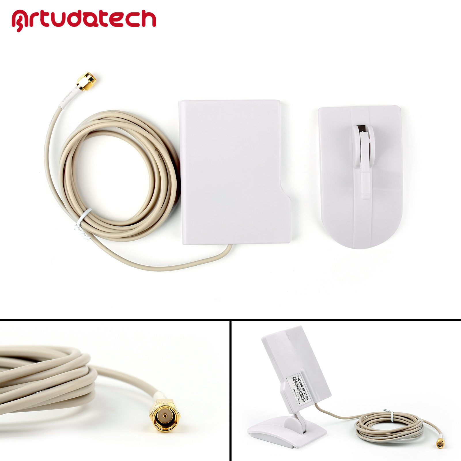 2.4GHz 9dBi Yagi Directional Antenna High Gain WIFI Router Booster w// Cable