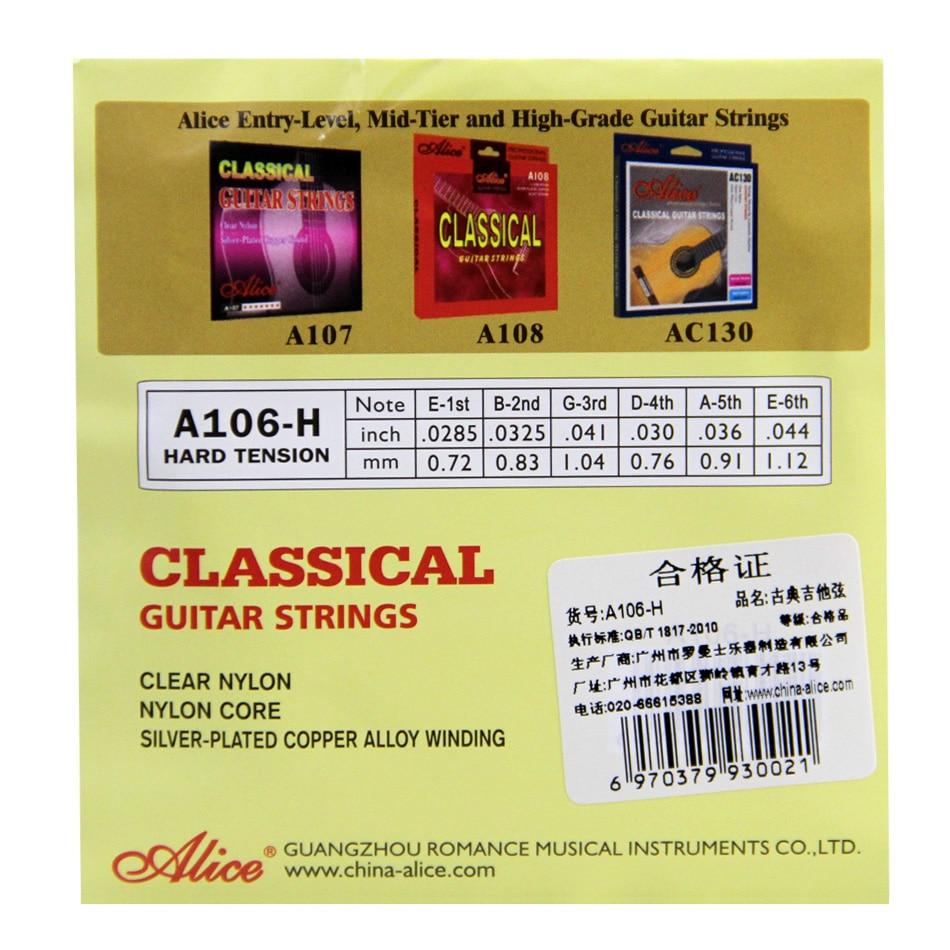 Corzi de chitară clasice A106 corzi din nailon - Instrumente muzicale - Fotografie 6