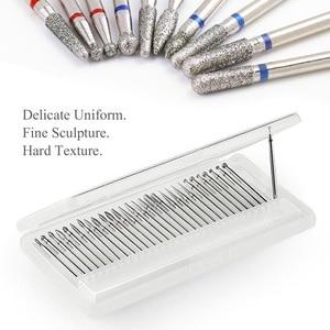 LEMOOC Nail Drill Bit Milling Machine Cutter Electric Grinding Tool Pedicure Nail Art Drill Nail File