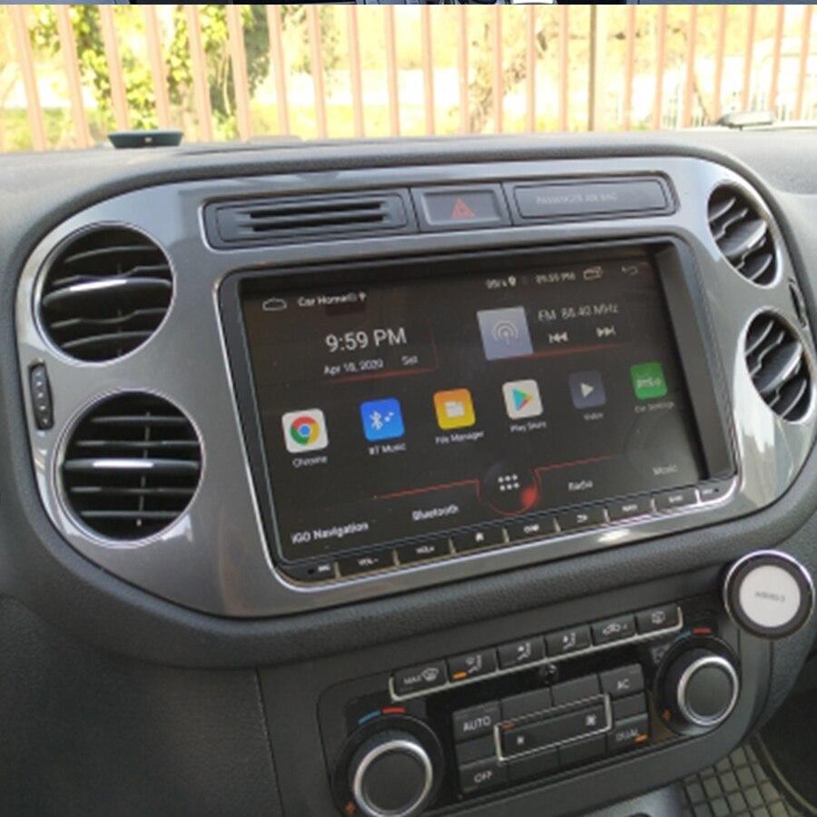 Автомобильный мультимедийный плеер, Android 10,0, Gps для VW Tiguan 2012, радио, Bluetooth, Интернет, USB-навигация, стерео, аудио, видео, головное устройство