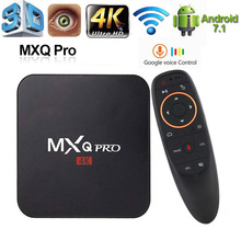 Top-Box Media-Player Smart-Tv Android 7.1 Mxq-Pro Voice-Tvbox-Assistant Youtube Google