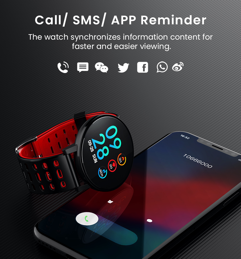 Makibes T3 IOS Android Smart Watches Men Women HR Blood Oxygen Blood Pressure IP67 Waterproof Activity Fitness Tracker PKV11 11