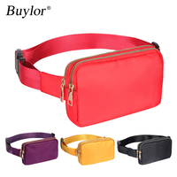 Buylor women's belt bags Fashion Waist Packs Designer Bum Bag Shoulder Chest Pack Waterproof Crossbody Bag Hip Phone Pouch 1