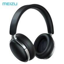 سماعة رأس جلدية Meizu HD60 لاسلكية 25h عالية الدقة Type C بلوتوث 5.0 خاصية إلغاء الضوضاء تعمل باللمس Aicy Siri Apt X