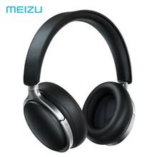 Meizu HD60 Hoofdtelefoon Lederen Hoofdband Draadloze 25H Hi Res Type C Bluetooth 5.0 Noise Cancelling Touch Bediening aicy Siri Apt X