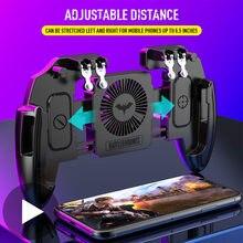 Мобильный джойстик pubg с триггером для телефона геймпад сотового